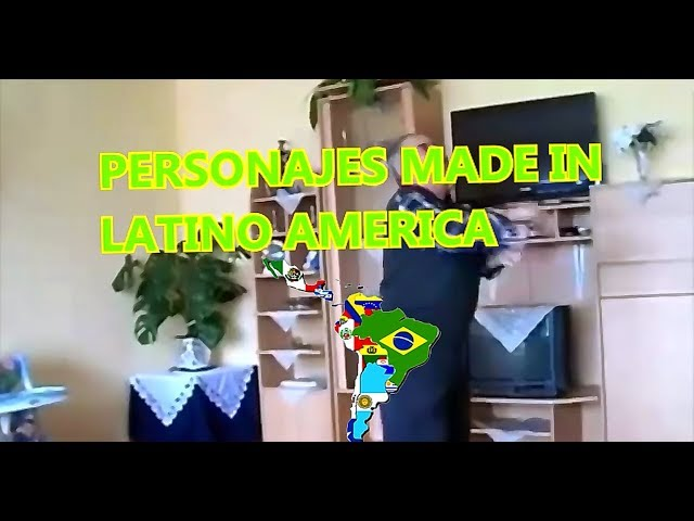 🌏 PERSONAJES MADE IN LATINO AMÉRICA
