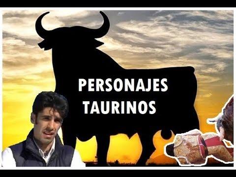 🐃 PERSONAJES TAURINOS