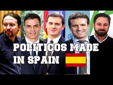 🇪🇸 POLÍTICOS MADE IN SPAIN
