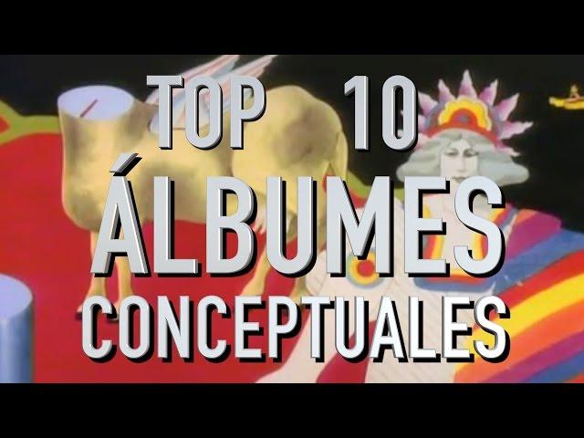 Top 10 Álbumes Conceptuales (Rapidito)