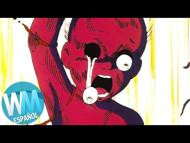 ¡Top 10 Escenas Más ATERRADORAS en Anime!