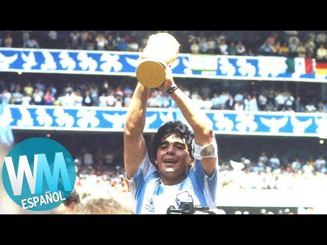 ¡Top 10 FUTBOLISTAS más LEGENDARIOS!