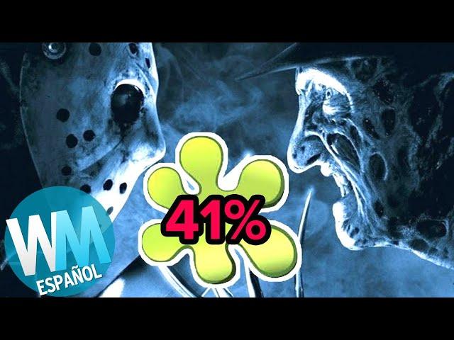 ¡Top 10 GRANDES Películas de Terror con MALAS PUNTUACIONES en Rotten Tomatoes!