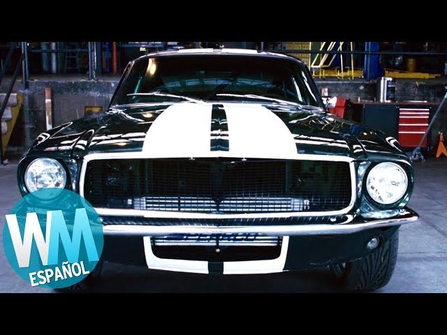 ¡Top 10 Mejores COCHES en FAST AND THE FURIOUS!