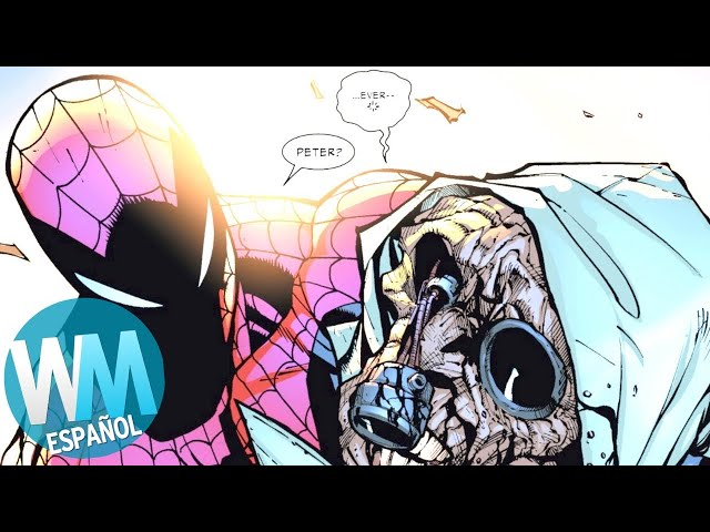 ¡Top 10 Momentos Más CONTROVERSIALES en la Historia de SPIDER-MAN!