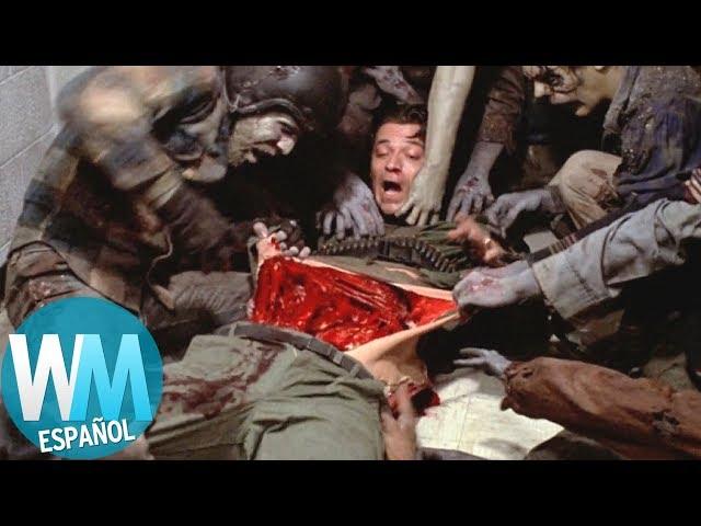 ¡Top 10 PEORES Formas de Morir en Películas!