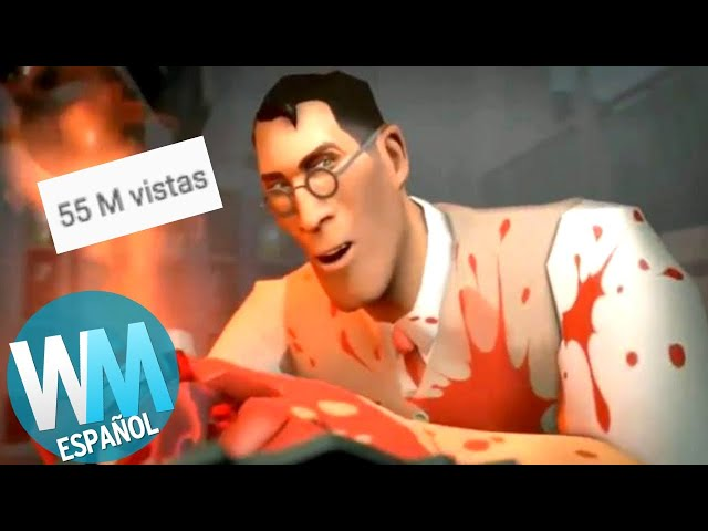 ¡Top 10 TRAILERS de Videojuegos Más VISTOS!