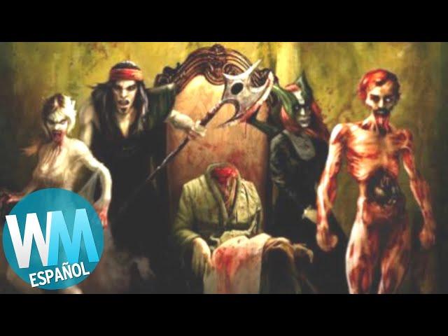 ¡Top 10 Videojuegos de TERROR OLVIDADOS!
