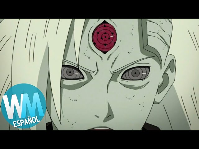¡Top 10 VILLANOS de NARUTO!
