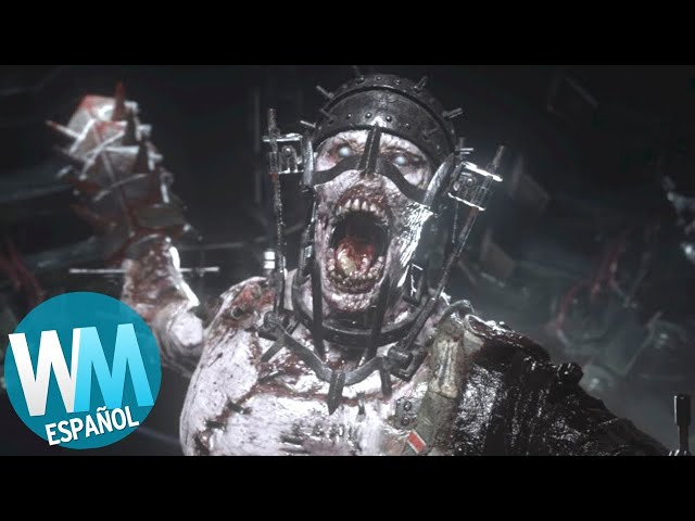 ¡Top 10 ZOMBIS más PERTURBADORES en CALL OF DUTY!