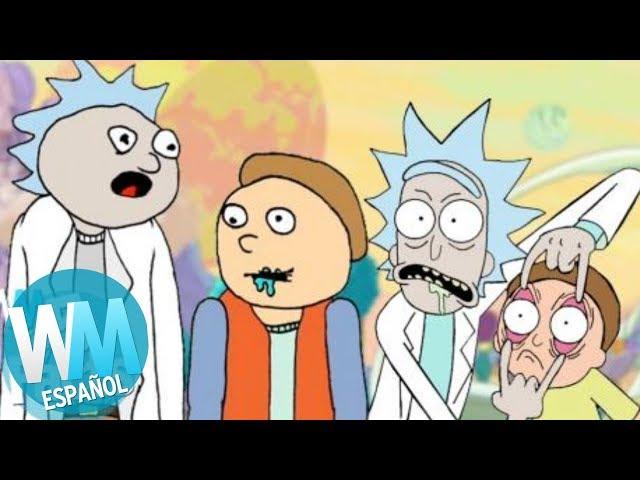 ¡Top 5 DATOS de Rick y Morty!
