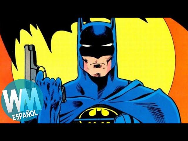 ¡Top 5 MITOS de BATMAN!