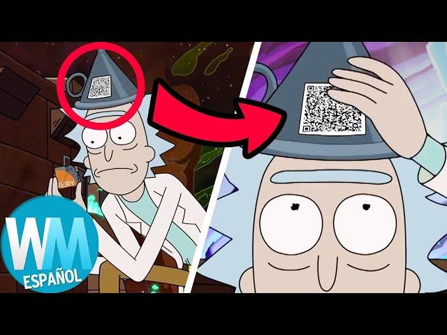 ¡Top 3 Cosas QUE TE PERDISTE en el Episodio 2 de la Temporada 4 de RICK Y MORTY!