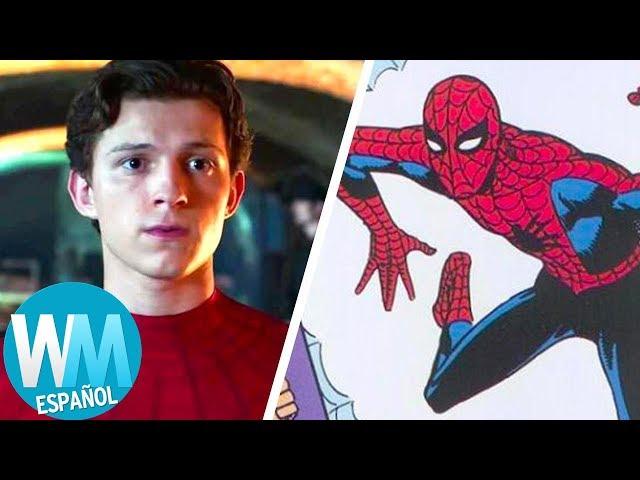 ¡La Historia Completa de SPIDER-MAN!