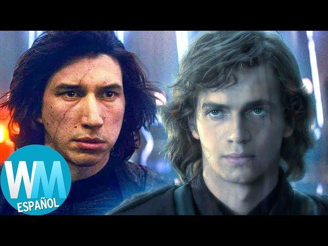 ¡Top 10 Cosas que SUPUESTAMENTE CASI OCURRIERON en Star Wars: El Ascenso de Skywalker!
