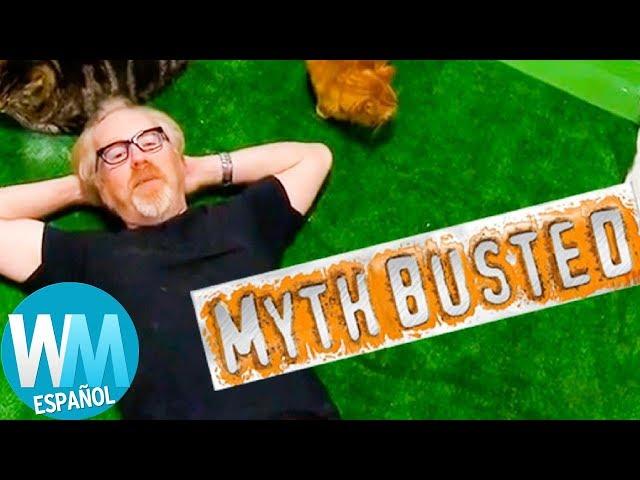 ¡Top 10 Mitos Más EXTRAÑOS Develados en MYTHBUSTERS!