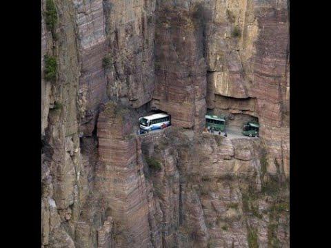 El Impresionante Tunel de Guo Liang / Los Videos mas Raros del Mundo 198