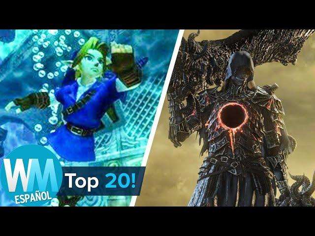 ¡Top 20 Niveles de Videojuegos más DIFÍCILES de TODOS LOS TIEMPOS!