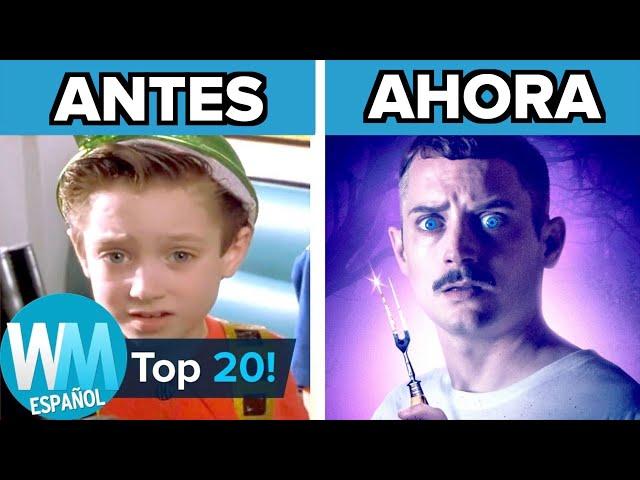 ¡Top 20 Actores INFANTILES con EXITOSAS Carreras!