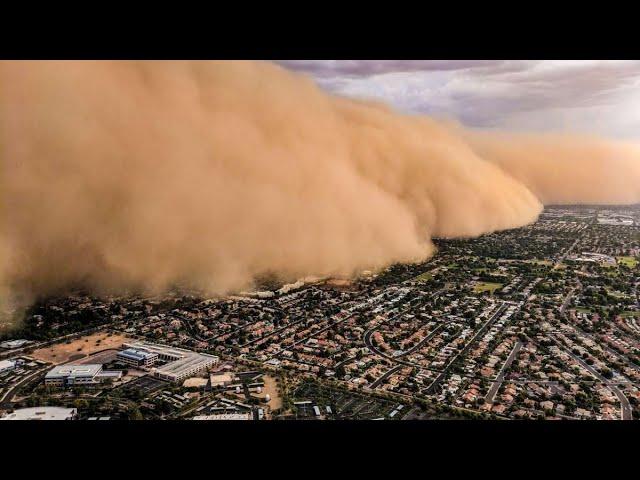 Videos de Desastres Naturales 12 / Tormentas de Arena