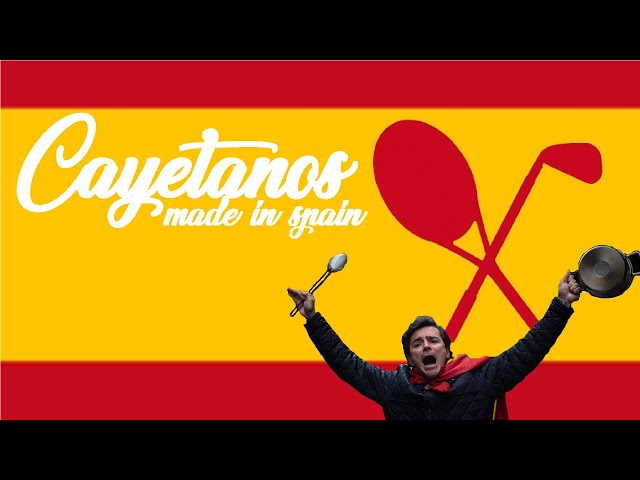 🇪🇸 CAYETANOS MADE IN SPAIN